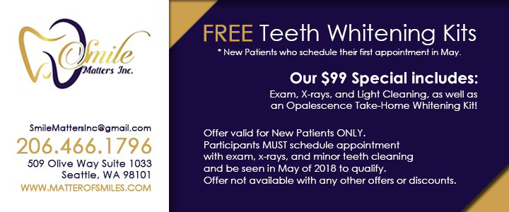 Smile Matters Inc., Coupon for New Patients